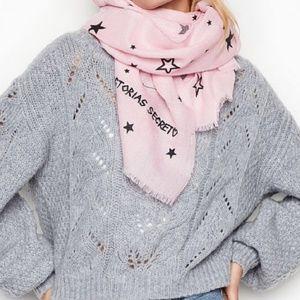 New Victoria's SECRET star scarf